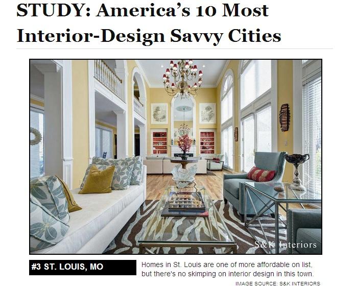 SK Interiors Featured In National Interior Design Study