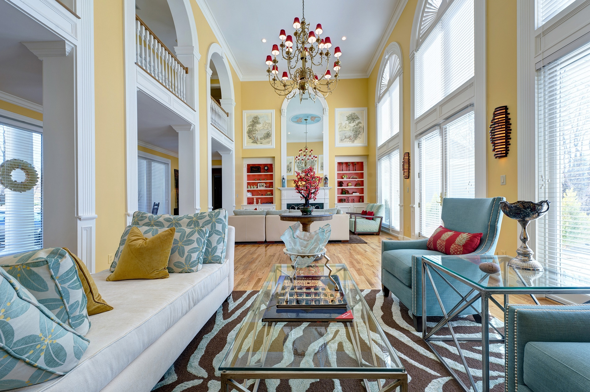 Asian interior design in frontenac st louis by s k interiors for St louis interior designers
