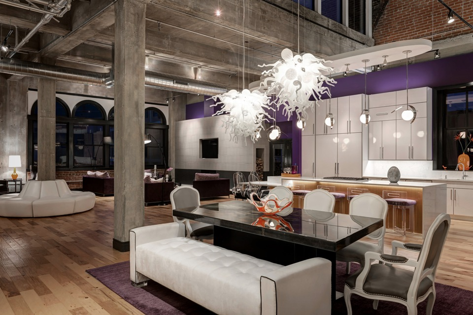 Downtown Rehabbed Penthouse
