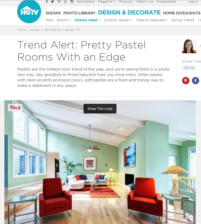 Pastel Interior Design St Louis