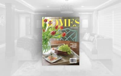 STL Homes Mag: Lower-Level Lounge